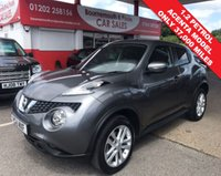USED 2015 15 NISSAN JUKE 1.2 ACENTA DIG-T 5d 115 BHP *ONLY 37,000 MILES*