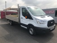 2016 FORD TRANSIT 350 L4 4.1m Alloy Dropside 125PSi £15750.00