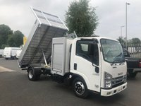 2018 ISUZU TRUCKS GRAFTER N35.125T Euro 6+ LWB All Alloy Tool Pod & Tipper £23495.00