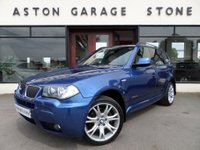 2009 BMW X3 2.0 XDRIVE20D M SPORT 5d AUTO 175 BHP **LEATHER** £8500.00