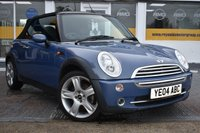 USED 2004 04 MINI CONVERTIBLE 1.6 COOPER 2d 114 BHP COMES WITH 6 MONTHS WARRANTY