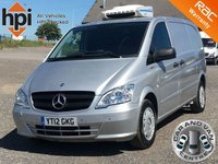 2012 MERCEDES-BENZ VITO 2.1 113 CDI BLUEEFFICIENCY LONG LWB AC TEMPERATURE CONTROLLED FRIDGE VAN