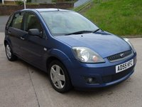 USED 2006 55 FORD FIESTA 1.4 ZETEC CLIMATE 16V 5d AUTO 80 BHP FULL SERVICE HISTORY +  TIMING BELT CHANGED +  MOT FEBRUARY 2019 +  GREAT EXAMPLE OF SEMI AUTOMATIC