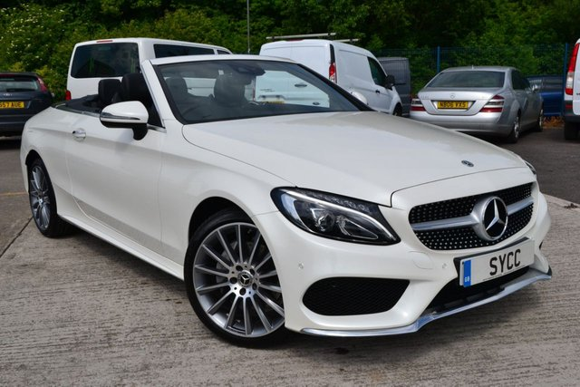 "USED 2017 17 MERCEDES-BENZ C CLASS 2.1 C 220 D 4MATIC AMG LINE PREMIUM PLUS 2d AUTO 168 BHP 19"" Multi-spoke AMG Alloys ~ Air Scarf ~ Balance of Mercedes Warranty"