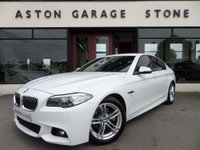 2014 BMW 5 SERIES 2.0 520D M SPORT AUTO 181 BHP **PRO NAV * LEATHER ** £17480.00