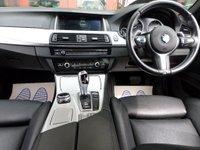 USED 2014 14 BMW 5 SERIES 2.0 520D M SPORT AUTO 181 BHP **PRO NAV * LEATHER ** ** PRO NAV * HEATED BLACK LEATHER **