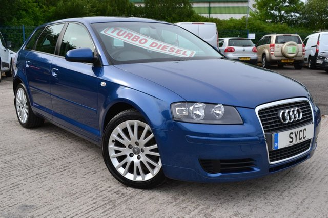 USED 2008 08 AUDI A3 2.0 TDI SE 5d 138 BHP RECENT SERVICE ~ 2 KEYS ~ ONLY 2 FORMER KEEPERS