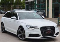 2014 AUDI A6 AVANT 2.0 AVANT TDI S LINE BLACK EDITION 5d AUTO 177 BHP £16995.00