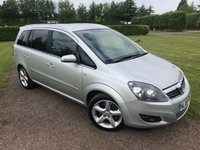 USED 2008 08 VAUXHALL ZAFIRA 1.9 SRI CDTI 5d 150 BHP FSH Recently Serviced, MOT 02/19 Full Service History, MOT 02/19, Recently Serviced, Extremley Clean And Tidy Example, X2 Keys, Aircon, X4 Elec Windows, Elec Mirrors, Full Zonboard Trip Computer, Sport Performance Mode, Towbar ( Used for bike rack)  Fully Valeted Ready To Go, Drives And Looks Superbly, You Will Not Be Dissapointed!!