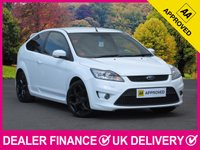 USED 2010 60 FORD FOCUS 2.5 ST-3 3DR 223 BHP BLACK LEATHER DAB AIR CON 18 INCH BLACK ALLOYS