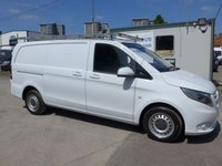 2015 MERCEDES-BENZ VITO 109 CDI LONG NEW SHAPE, COLOUR CODED, FULL SIZE ROOF RACK £10995.00