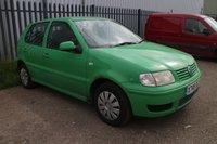 2000 VOLKSWAGEN POLO 1.4 S 5d AUTO 60 BHP £450.00