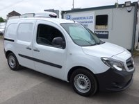 2016 MERCEDES-BENZ CITAN 1.5 109 CDI, NEW GAH CHILLER, 1 COMPANY OWNER, 14000 MILES £SOLD