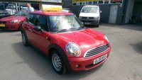 2009 MINI HATCH ONE 1.4 ONE 3 DOOR AUTOMATIC  94 BHP WITH 29000 MILES ONLY IN METALLIC RED £5799.00