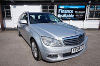 2008 MERCEDES-BENZ C CLASS 2.1 C220 CDI ELEGANCE 5d AUTO 168 BHP,LOW MILEAGE,FSH,LEATHER,CRUISE £7795.00