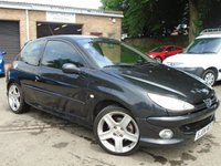 USED 2004 04 PEUGEOT 206 2.0 GTI 3d 175 BHP GREAT VALUE + LOW MILES + NEW MOT