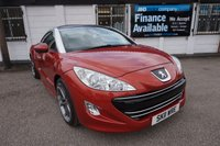 "2011 PEUGEOT RCZ 1.6 THP GT 2d 156 BHP,LEATHER SEATS AND DASH,19""ALLOYS,F AND R PARK £7495.00"