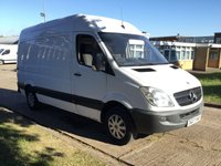 USED 2007 07 MERCEDES-BENZ SPRINTER 2.1 311CDI MWB HIGH ROOF. AIR CONDITIONING. FSH. AIR CONDITIONING. PX WELCOME.