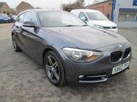 2012 BMW 1 SERIES 2.0 118D SPORT 3d 141 BHP £8299.00