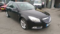 2012 VAUXHALL INSIGNIA 1.8 SRI 5 DOOR 138 BHP IN BLACK WITH ONLY 50000 MILES . £5499.00