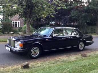 1996 ROLLS-ROYCE SILVER SPUR MK4 FINAL EDITION SERIES 6.8 V8 LWB. LOW 36K. Very Rare and Special Car £39950.00