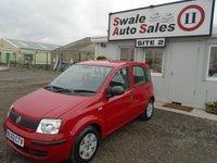 2010 FIAT PANDA 1.1 ACTIVE ECO 5d 54 BHP £3495.00