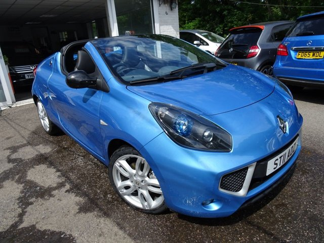 2011 11 RENAULT WIND ROADSTER 1.1 GT LINE TCE 2d 100 BHP