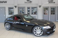 """USED 2007 56 BMW Z4 3.2 Z4 M COUPE 2d 338 BHP RED LEATHER SEATS + FULL SERVICE HISTORY + SAT NAV + HEATED SEATS + AIR CON + 19"""" ALLOYS"""