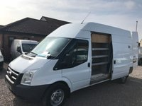 2010 FORD TRANSIT 2.4 350 H/R 1d 115 BHP NO VAT TO PAY £6450.00