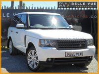 USED 2010 60 LAND ROVER RANGE ROVER 4.4 TDV8 VOGUE 5d AUTO 313 BHP *STUNNING FUJI WHITE V8 DIESEL*