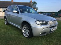 2007 BMW X3 3.0 SD M SPORT 5d AUTO 282PS fully loaded very clean car fsh  £5495.00