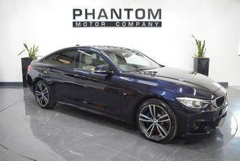 2016 BMW 4 SERIES 3.0 435D XDRIVE M SPORT GRAN COUPE 4d AUTO 309 BHP £29990.00
