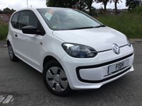 USED 2013 13 VOLKSWAGEN UP 1.0 TAKE UP 3d 59BHP 20 ROAD TAX+LOW INSURANCE+CD+