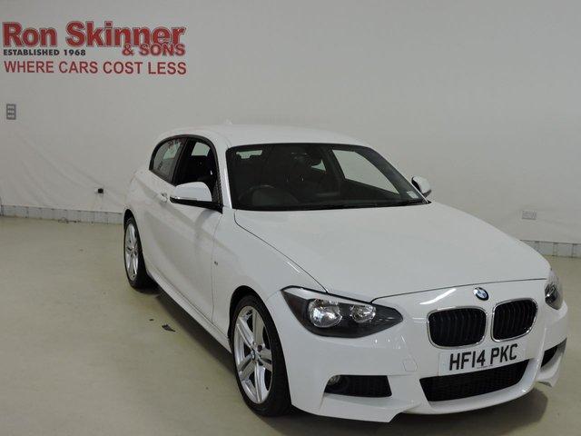 View our 2014 14 BMW 1 SERIES 2.0 120D M SPORT 3d 181 BHP