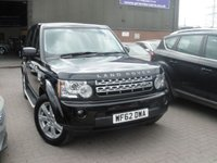 2012 LAND ROVER DISCOVERY 3.0 4 SDV6 GS 5d AUTO 255 BHP £19995.00