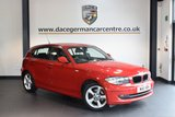 USED 2011 11 BMW 1 SERIES 2.0 118D SPORT 5DR AUTO 141 BHP + FULL BMW SERVICE HISTORY + SPORT SEATS + PARKING SENSORS + AIR CONDITIONING + AUXILIARY PORT + 16 INCH ALLOY WHEELS +
