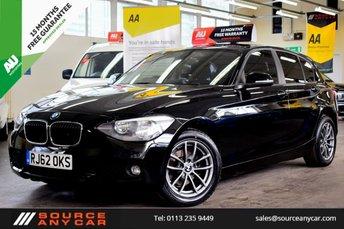 2013 BMW 1 SERIES 1.6 116D EFFICIENTDYNAMICS 5d 114 BHP £8250.00