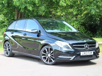 2013 MERCEDES-BENZ B CLASS 1.8 B180 CDI BLUEEFFICIENCY SPORT 5d AUTO 109 BHP £10895.00