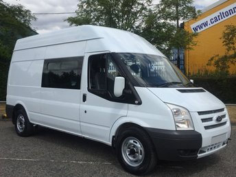 2012 FORD TRANSIT 2.2 350 High Roof [ Mess Welfare+Toliet ] Van Rwd FSH Free UK Delivery £9950.00