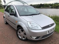 2005 FORD FIESTA 1.2 ZETEC CLIMATE 5d 74 BHP £SOLD