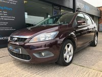 USED 2008 08 FORD FOCUS 1.6 ZETEC TDCI 5d 108 BHP Only £30 year road tax, Full service history
