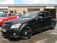 2008 MERCEDES-BENZ C CLASS 2.1 C220 CDI SPORT 4d AUTO 168 BHP £4995.00