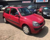 USED 2002 02 RENAULT CLIO 1.1 EXPRESSION PLUS 16V 3d 75 BHP