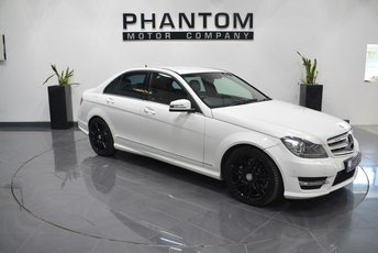 2012 MERCEDES-BENZ C CLASS 2.1 C220 CDI BLUEEFFICIENCY AMG SPORT PLUS 4d AUTO 168 BHP £11990.00