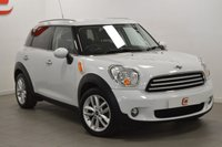 USED 2012 12 MINI COUNTRYMAN 1.6 COOPER D 5d 112 BHP ONLY 2 OWNERS + SERVICE HISTORY + FINANCE AVAILABLE