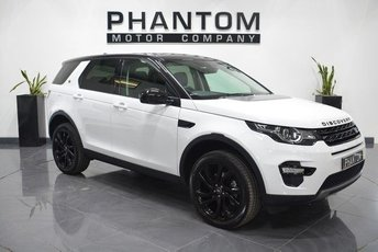 2017 LAND ROVER DISCOVERY SPORT 2.0 TD4 HSE BLACK 5d AUTO 180 BHP £34490.00