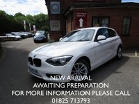 2015 BMW 1 SERIES 1.6 118I SE 3d 168 BHP £SOLD