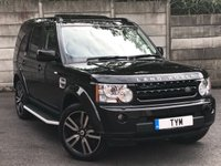 USED 2013 13 LAND ROVER DISCOVERY 3.0 SDV6 HSE LUXURY 5d AUTO 255 BHP HSE LUXURY SPEC/FULLY LOADED