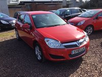 USED 2010 10 VAUXHALL ASTRA 1.4 ACTIVE 5d 88 BHP
