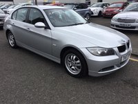 USED 2007 07 BMW 3 SERIES 2.0 320D ES 4d 161 BHP OUR  PRICE INCLUDES A 6 MONTH AA WARRANTY DEALER CARE EXTENDED GUARANTEE, 1 YEARS MOT AND A OIL & FILTERS SERVICE. 6 MONTHS FREE BREAKDOWN COVER.  CALL US NOW FOR MORE INFORMATION OR TO BOOK A TEST DRIVE ON 01315387070 !!